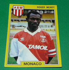 N°137 ROGER MENDY AS MONACO ASM LOUIS II PANINI FOOTBALL FOOT 92 1991-1992