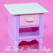 Kids Bedroom Pink bedside Table night stand Fisher Price Loving Family Dollhouse