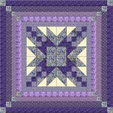 Quilt Kit/Elegant StarQUEEN/Gorgeous/Pre-cut Fabrics Ready To Sew!/Expedited ***