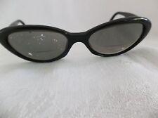 Vintage Black  CAT EYE eyeglass frames AUTHENTIC COSMOPOLITAN WOMENS
