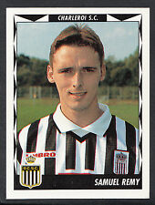 Panini Belgian Football 1999 Sticker - No 113 - Charleroi - Samuel Remy