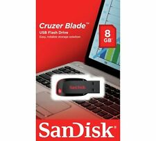 SanDisk 8GB Cruzer Blade USB Flash Drive Memory Stick Pen Thumb  New Sealed