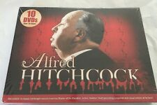 New Alfred Hitchcock (10 DVDs) Over 16 Hours Sealed Free Shipping!!!