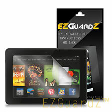 "2X EZguardz Clear Screen Protector Shield 2X For Amazon Kindle Fire HD 7"" (2013)"