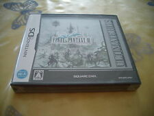 FINAL FANTASY III 3 ULTIMATE HITE NINTENDO DS JAPAN IMPORT NEW OLD STOCK!