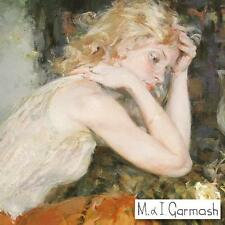"""Garmash  """"Silents Thoughts"""" Limited Edition Hand-Embellished Canvas Signed  COA"""