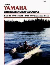 CLYMER 200 HP JET TWO STROKE YAMAHA OUTBOARD REPAIR SERVICE MANUAL 1984-1989