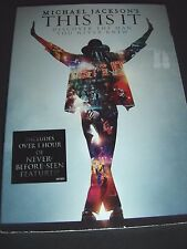 Michael Jackson's This Is It (DVD, 2010) NEW
