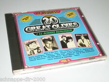 20 GREAT OLDIES CD MIT THE VENTURES - BOBBY VEE - CHER - TURTLES - JAY & THE AME