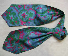 GROSVENOR BY TOOTAL RARE PSYCHEDELIC CRAVAT VINTAGE 1960'S 1970'S MOD SCOOTER
