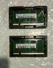 Samsung 4GB 2x2GB PC2-5300 PC5300S DDR2 667 mhz ordinateur portable mémoire ram so-dimm 200pin