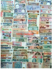 World Paper Money 100PCS  Banknotes from 30 countries Genuine UNC