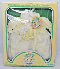 Vintage 1983 Cabbage Patch Kids Baby Outfit Preemies Jumper set NIB  Coleco