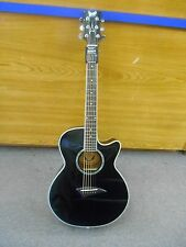 Dean Performer Acoustic Electric Guitar In Classic Black Model PE CBK #009