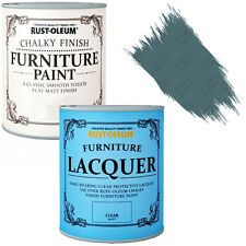 Rust-Oleum Chalky Furniture Paint Chic Shabby 750ml Belgrave Clear Lacquer