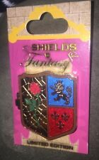 Disney Pin Shields Of Fantasy Beauty And The Beast Rose First In The Set Le