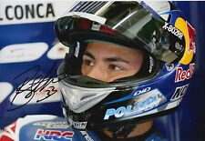 Enea Bastianini Hand Signed 12x8 Photo Gresini Honda Moto3 2016 MOTOGP 8.