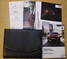 GENUINE BMW X4 HANDBOOK NAVIGATION OWNERS MANUAL 2014-2016 PACK 7282