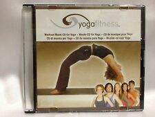 YOGA FITNESS ~ WORKOUT MUSIC CD FOR YOGA ~ AS NEW CD ~ FREE POST