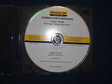 NEW HOLLAND FP230 FP240 FORAGE HARVESTER OPERATION & MAINTENANCE BOOK MANUAL