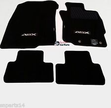 MITSUBISHI ASX AUTO Floor Mats CARPET Brand New Genuine 2010-2016 XA XB BLACK