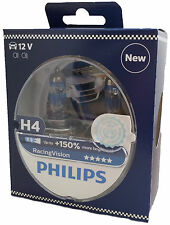 Philips H4 12V 60/55W P43t Racing Vision +150% X-treme 2er Set 12342RVS2