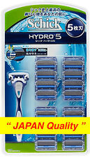 "Schick HYDRO 5 Holder + Razor Blades 17 pcs from ""JAPAN Quality"" Free Shipping"