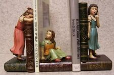 Bookends Memories of Youth Three Girls Best Friends Three Piece Set Book Ends N