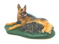 X15) Safari ( 25470) Schäferhund Hündin mit Welpen Hund Hunde handbemalt TOP