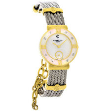Philippe Charriol St. Tropez Ladies Diamond MOP Cuff Dress Watch ST30YD.560.010