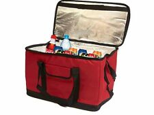 EXTRA LARGE 30 LITRE 60 CAN INSULATED COOLER COOL BAG COLLAPSIBLE PICNIC CAMPING