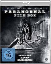Paranormal Film Box - Besessen - Livid - Dark Beach - 3 Blu Ray Box - Neu u. OVP