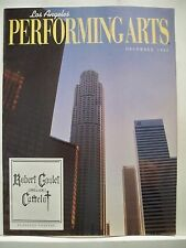 CAMELOT Large Program ROBERT GOULET / PATRICIA KIES / RICHARD WHITE Tour LA 1993