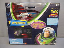 "Toy Story 10th Anniversary ""GYROTOR"" Buzz Lightyear RC Helicopter NEW Disney"