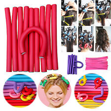 NT 10X Fantastic DIY Curler Makers Soft Foam Bendy Twist Curls Tool Hair Rollers