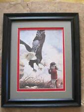 Gregory Perillo THE THIEF framed matted print  poem by Carol Wood Heartbeat ....