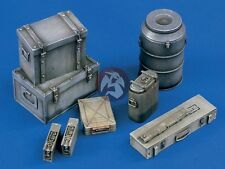 Verlinden 120mm 1/16 German Ammo Crates Equipment Boxes Food Containers WWII 967