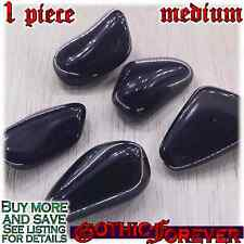 1 Medium 20mm Combo Ship Tumbled Gem Stone Crystal Natural - Apache Tears