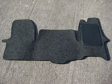 Van/Car Mats in Anthracite to fit Iveco Daily Mk6 (2014 on) - FREE COLOURED TRIM