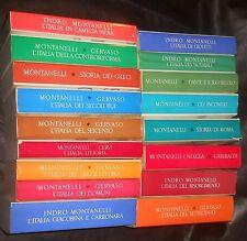 Montanelli, Storia d'Italia - lotto 17 volumi - RIzzoli, 1965