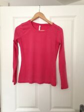 Next Pink Top Long Sleeve Tshirt Size 8 -  E1110