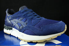 ASICS GEL LYTE V 5 BLUE PRINT NAVY BLACK WHITE H6Q4L 5151 SZ 8.5