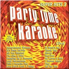 Party Tyme Karaoke: Super Hits 3 Party Tyme Karaoke Audio CD