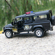 "Land Rover Defender 5.3"" Alloy Diecast Model Cars Police Toys Gifts & collection"