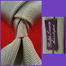 RALPH LAUREN PURPLE LABEL EXQUISITE ENGLISH TWILL SILK NECKTIE �� NWT $179