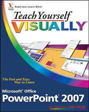 Teach Yourself VISUALLY Microsoft Office PowerPoint 2007 (Teach-ExLibrary
