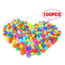 100pcs Multi-Color Cute Kids Soft Play Balls Toy for Ball Pit Swim Pit Pool lt