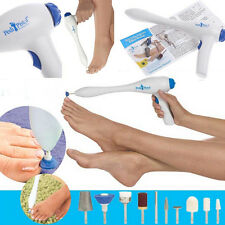Electric Manicure Pistol Home Pedicure System Skin Nails Toe Treatment With Tool