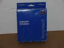 Blue Official Sony PS2 Vertical Stand SCPH-10040 Fat System OEM NIP