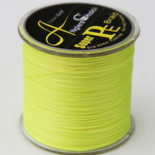 STRONG PE Multifilament Braided Fishing Line 500m Japanese Yellow Braid 60LB